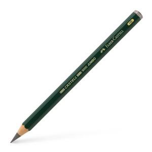 totenart-Lapiz Grafito JUMBO 9000 H, Faber-Castell