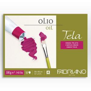 Block Fabriano Oleo, Tela, 300 gr., 30x40 cm.