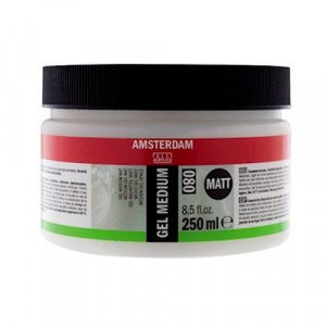 Totenart-Gel Medium Mate 080, Amsterdam 250 ml.