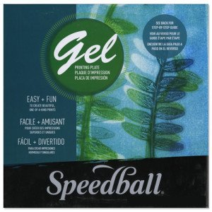 Placas Gel de impresión 20,3 x 25,4 cm Speedball