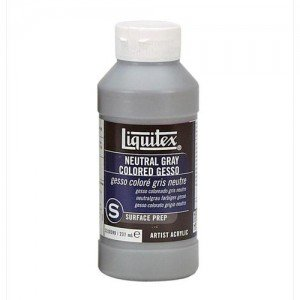 Gesso color gris Liquitex (237 ml)