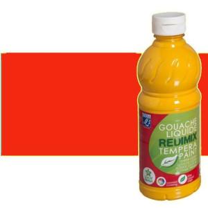 totenart-Gouache liquido Bermellon, Lefranc, 1000 ml.