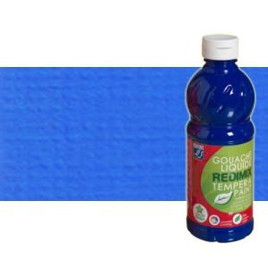 totenart-gouache-liquido-color-co-Lefranc-064-azul-cobalto-bote-500-ml