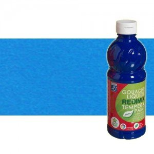 totenart-gouache-liquido-color-co-Lefranc-083-azul-fluorescente-bote-500-ml