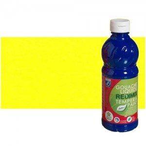 totenart-gouache-liquido-color-co-Lefranc-169-amarillo-limon-bote-500-ml
