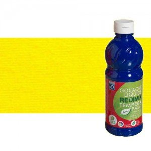totenart-gouache-liquido-color-co-Lefranc-176-amarillo-oro-bote-500-ml