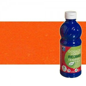 totenart-gouache-liquido-color-co-Lefranc-201-naranja-bote-500-ml