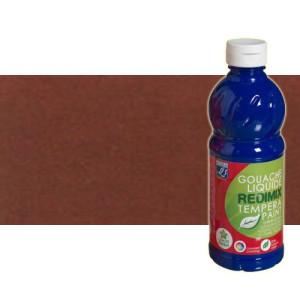 totenart-gouache-liquido-color-co-Lefranc-481-tierra-siena-tostada-bote-500-ml
