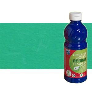 totenart-gouache-liquido-color-co-Lefranc-529-verde-esmeralda-bote-500-ml