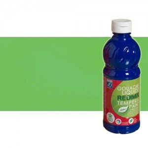 totenart-gouache-liquido-color-co-Lefranc-565-verde-fluorescente-bote-500-ml