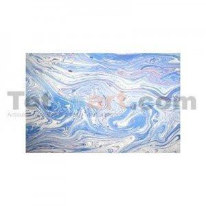 totenart-Guarda aguas hecha a mano, azul