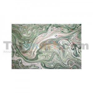 totenart-Guarda aguas hecha a mano, verde