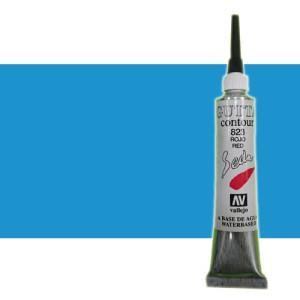 totenart-Gutta contour Vallejo, Azul nacarado 20 ml