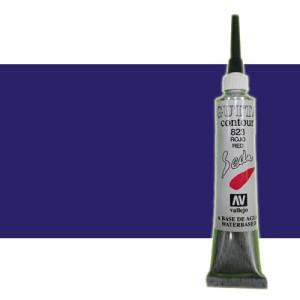 totenart-Gutta contour Vallejo, Azul 20 ml