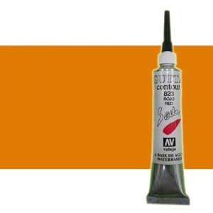 totenart-Gutta contour Vallejo, Cobre 20 ml