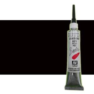 totenart-Gutta contour Vallejo, Negro 20 ml