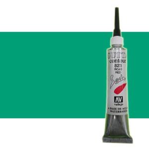 totenart-Gutta contour Vallejo, Verde 20 ml