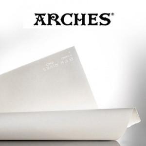 totenart-Hoja Velin BFK Rives de Arches 115 gr, 48x66 cm, Blanco
