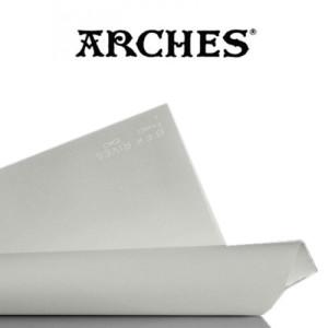 totenart-Hoja Velin BFK Rives de Arches 280 gr, 56x76 cm, Gris