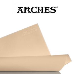 totenart-Hoja Velin BFK Rives de Arches 280 gr, 56x76 cm, Tostado