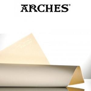 totenart-Hoja Velin de Arches 250 gr, 56x76 cm, Crema
