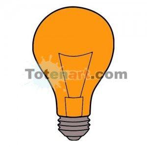 totenart-Laca bombillas naranja Mongay, 50 ml.