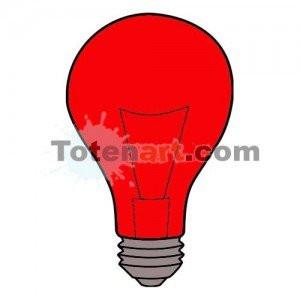 totenart-Laca bombillas roja Mongay, 50 ml.