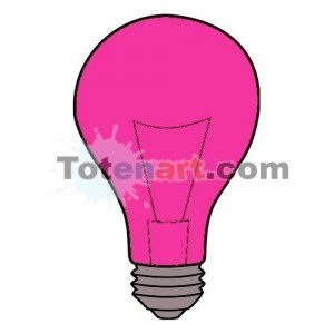 totenart-Laca bombillas rosa Mongay, 50 ml.