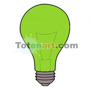 totenart-Laca bombillas verde Mongay, 50 ml.