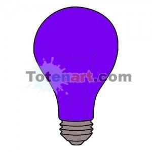 totenart-Laca bombillas violeta Mongay, 50 ml.