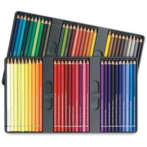 totenart-Caja metal 60 lápices de color acuarelables Albrecht Dürer Faber-Castell, colores