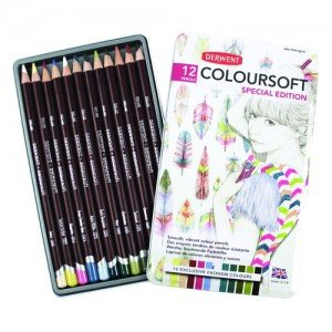 Estuche de 12 lápices Fashion Colours Derwent