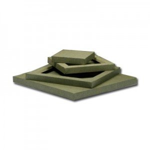 Lienzo 3D Totenart color crudo (30x30 cm)