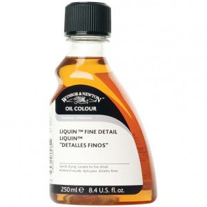 """Totenart-Liquin """"Detalles Finos"""" Winsor & Newton (250 ml)"""
