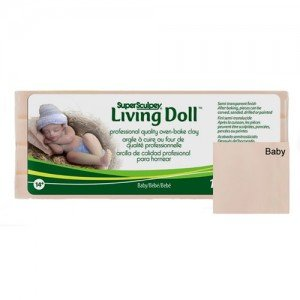 Sculpey Living Doll Bebe, 454 gr.