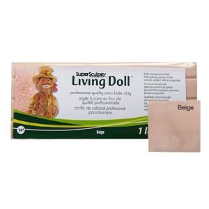 Sculpey Living Doll Carne beige, 454 gr.