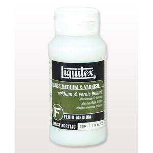 totenart-Medium Barniz Brillante, Liquitex 118 ml.