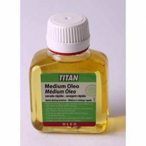 totenart-Medium para colores al óleo Titan de secado rápido (100 ml)