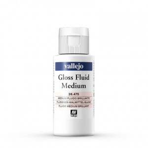 Medium Fluido Brillante  Vallejo, 60 ml.