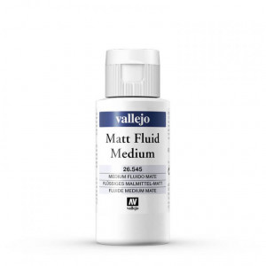 Medium Fluido Mate  Vallejo, 60 ml.