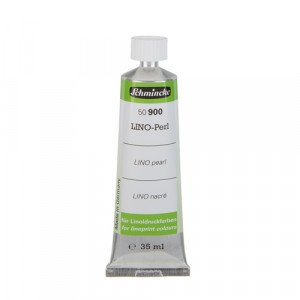 Medium perlado-nacarado tinta linoleo, 35 ml., Schmincke