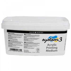 totenart-Medium SERIGRAFIA System 3 Acrylic Printing Medium (1 lt.)