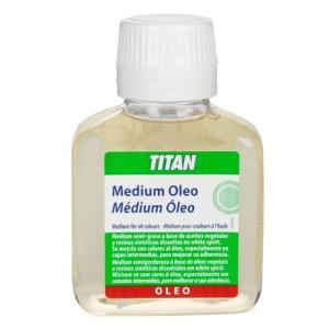 Medium colores al oleo Titan, 100 ml.