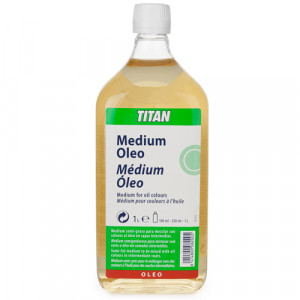 totenart-Medium para colores al óleo Titan (1000 ml)