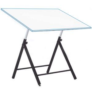 Mesa de dibujo Estudio regulable con varillas, 90x130 cm.