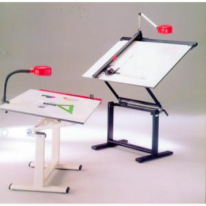 Mesa de dibujo profesional con armazón, 150x100 cm.