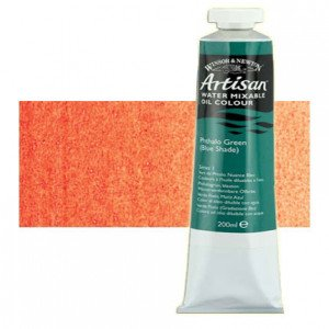 Óleo al agua Winsor & Newton Artisan color tono naranja cadmio (200 ml)