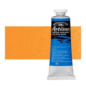 Óleo al agua Winsor & Newton Artisan color tono amarillo cadmio intenso (37 ml)