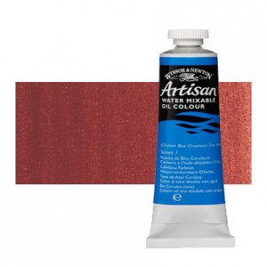 Óleo al agua Winsor & Newton Artisan color rojo indio (37 ml)