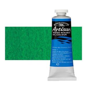 Óleo al agua Winsor & Newton Artisan color verde ftalo sombra amarilla (37 ml)